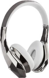 Monster DiamondZ On-Ear Universal CT Headphones - Chrome/White