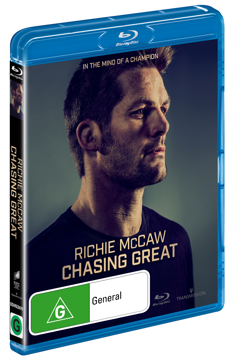 Richie McCaw: Chasing Great on Blu-ray image