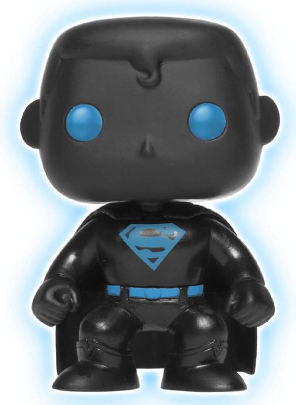 Justice League - Superman Silhouette (Glow) Pop! Vinyl Figure
