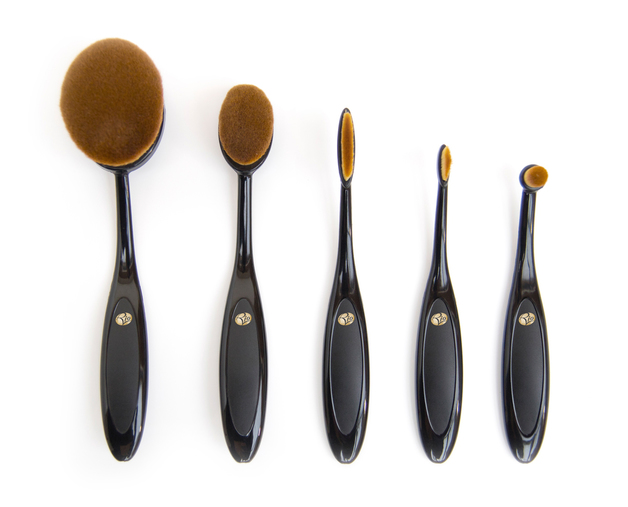 Essential Microfibre Cosmetic Brush Collection