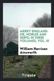Merry England by William , Harrison Ainsworth image
