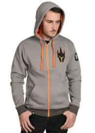 Overwatch Ultimate Reinhardt Zip-Up Hoodie (Large)