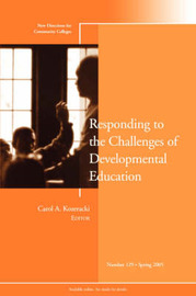 Responding to the Challenges of Developmental Education by CC (Community Colleges)
