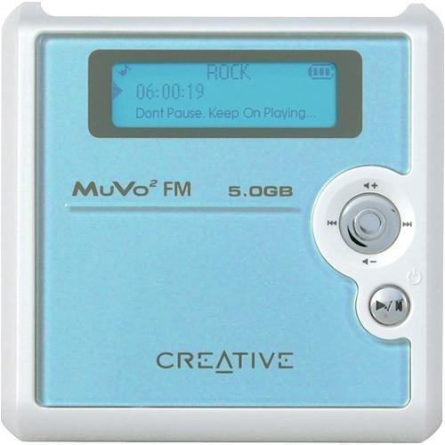 CREATIVE LABS Creative Muvo Square Blue 5GB FM MP3 Player