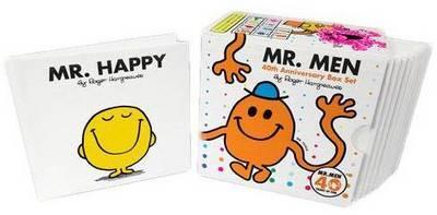 Mr Men 40th Anniversary Boxed Set (10 Hardback Books) by Roger Hargreaves