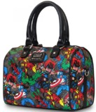 Loungefly Marvel Characters All Over Duffle