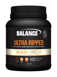 Balance Ultra Ripped Naturals Whey Protein - Vanilla (750g)