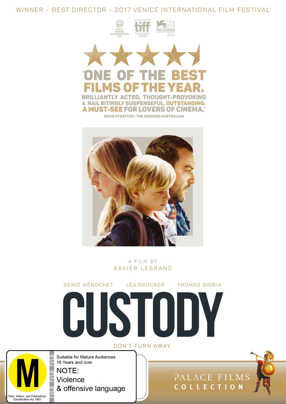 Custody on DVD image