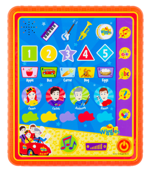 The Wiggles - My First Learning Tablet
