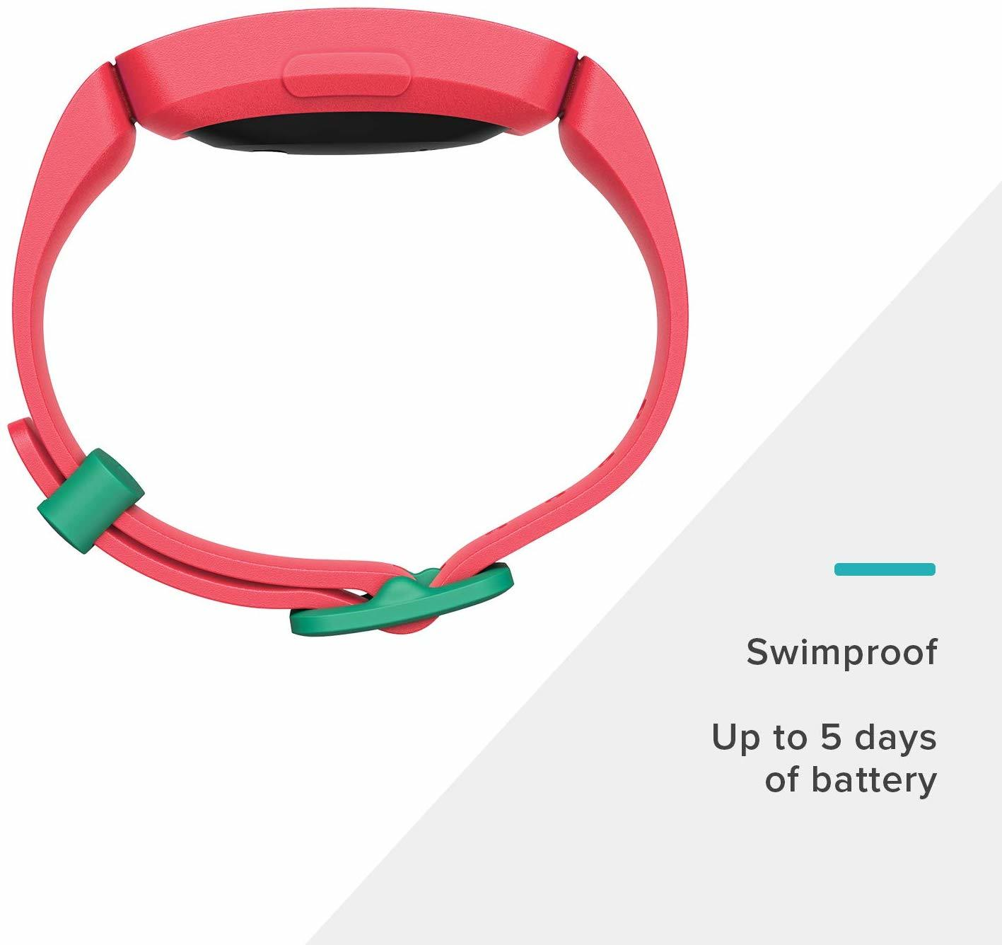 Fitbit Ace 2 Kid's Activity Tracker - Watermelon/Teal image
