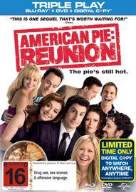 American Pie: Reunion - Triple Play on DVD, Blu-ray, DC