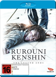 Rurouni Kenshin: The Legend Ends on Blu-ray