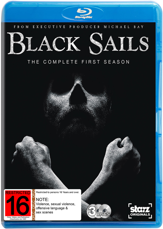 Black Sails - The Complete First Season on Blu-ray
