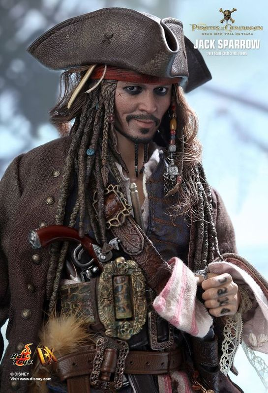 "Pirates of the Caribbean 5: Jack Sparrow 12"" Figure"