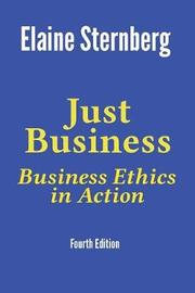 Just Business by Elaine Sternberg image