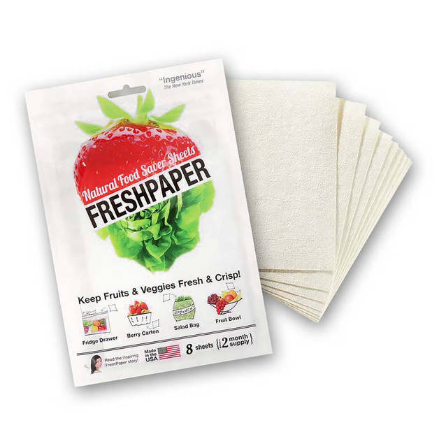 FreshPaper Food Save Sheets - 8 Sheet Pack