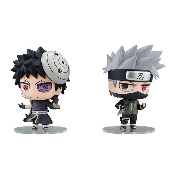 Naruto Shippuden: Kakashi & Obito Ninkai Taisen Set - PVC Figure