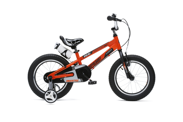 "RoyalBaby: Space No.1 RB-17 - 14"" Alloy Bike (Orange)"