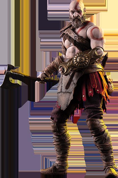 God of War - Kratos - 1:6 Scale Action Figure