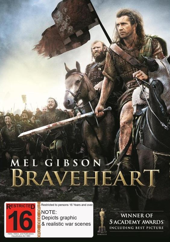 Braveheart on DVD