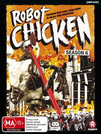 Robot Chicken - Season 6 on DVD