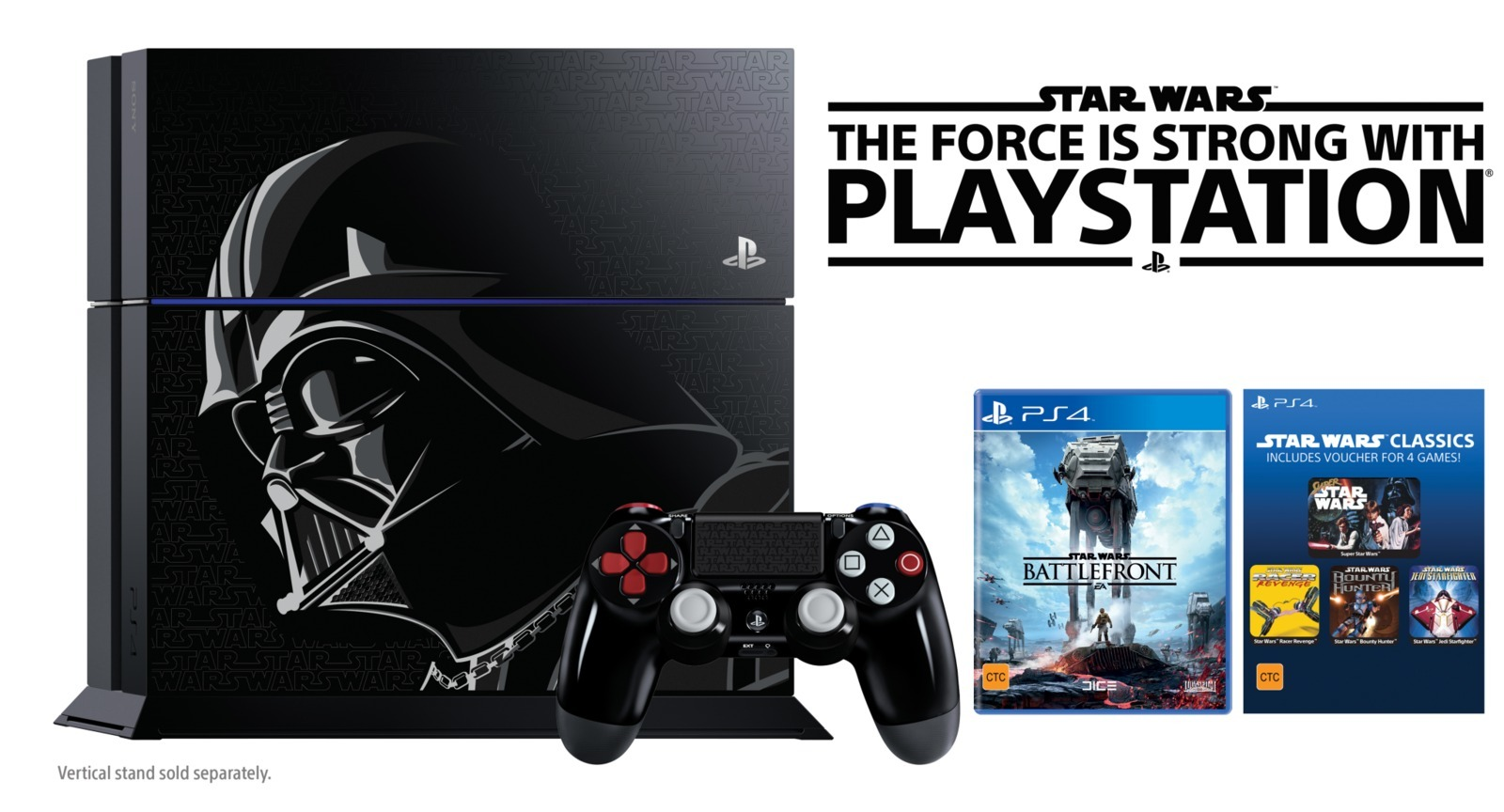 star wars battlefront 1tb ps4 console ps4 buy now at. Black Bedroom Furniture Sets. Home Design Ideas