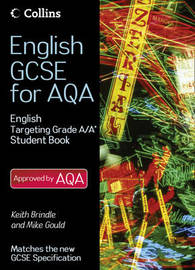 English Student Book Targeting Grades A/A* by Keith Brindle image