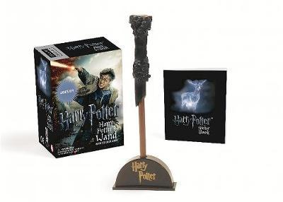 Harry Potter Wizard's Wand with Sticker Book by Running Press image