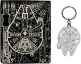 Star Wars: Millennium Falcon - Wallet & Keychain Set