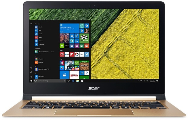 "Acer Swift 7 SF713-51 13.3"" Laptop Intel Core i7-7Y75 8GB"