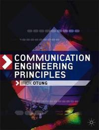 Communication Engineering Principles by Ifiok Otung image
