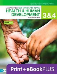 Key Concepts VCE Health and Human Development Units 3&4 5E Ebk & Print+s/On by A Beaumont
