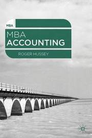MBA Accounting by Roger Hussey