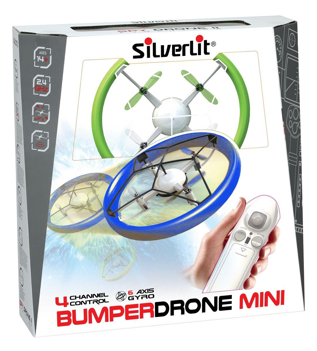 Silverlit: Bumper Drone Mini - Blue image