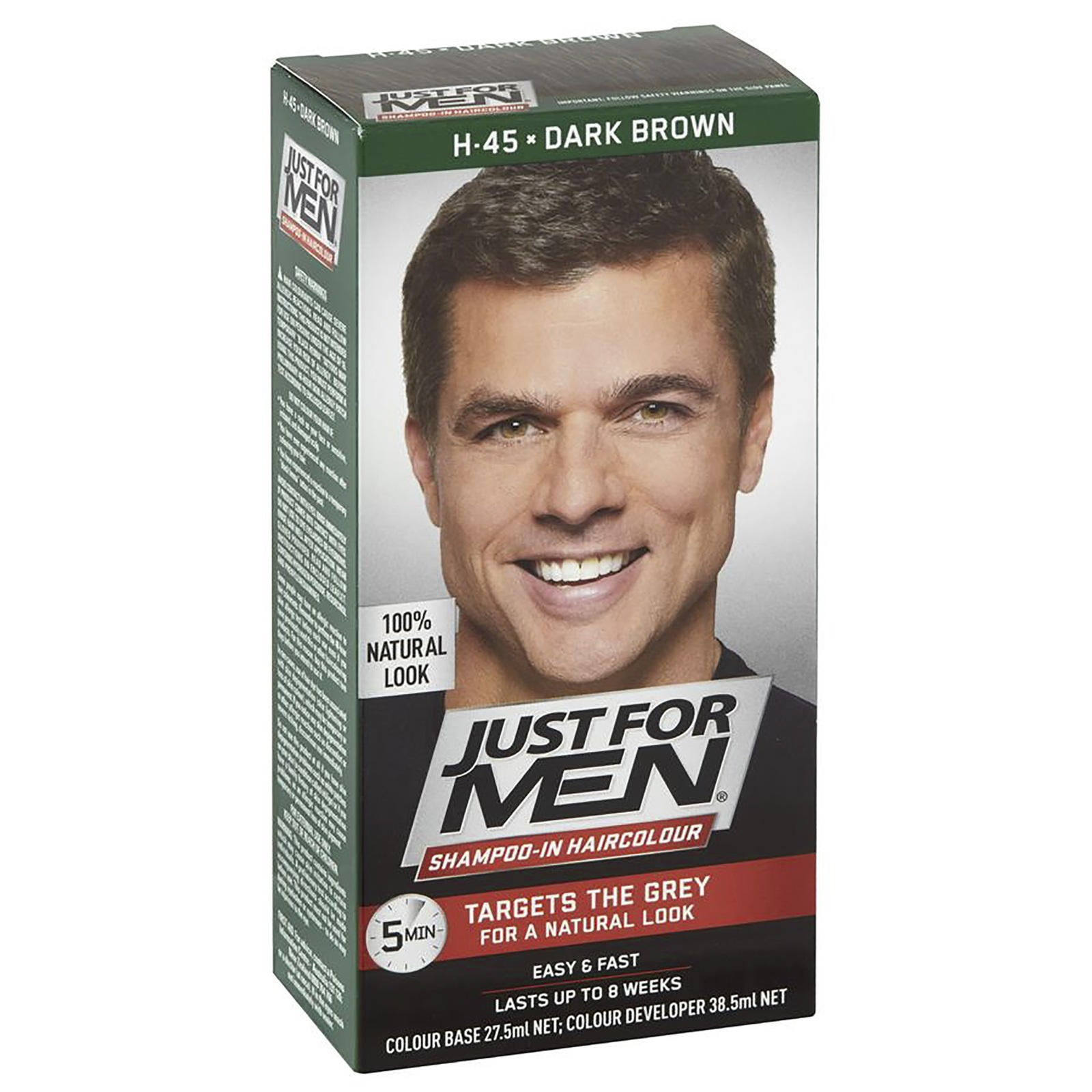 Just For Men Shampoo-In Hair Colour - Dark Brown image