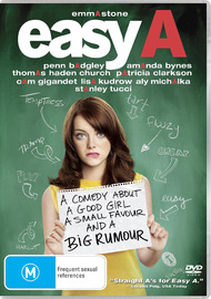 Easy A on DVD