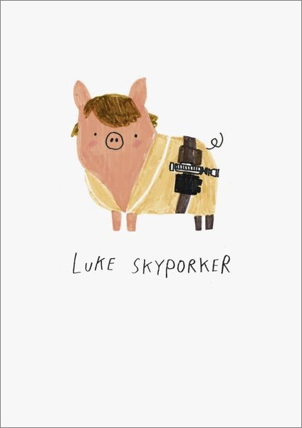Oh Deer: Luke Skyporker Multi-Purpose Greeting Card