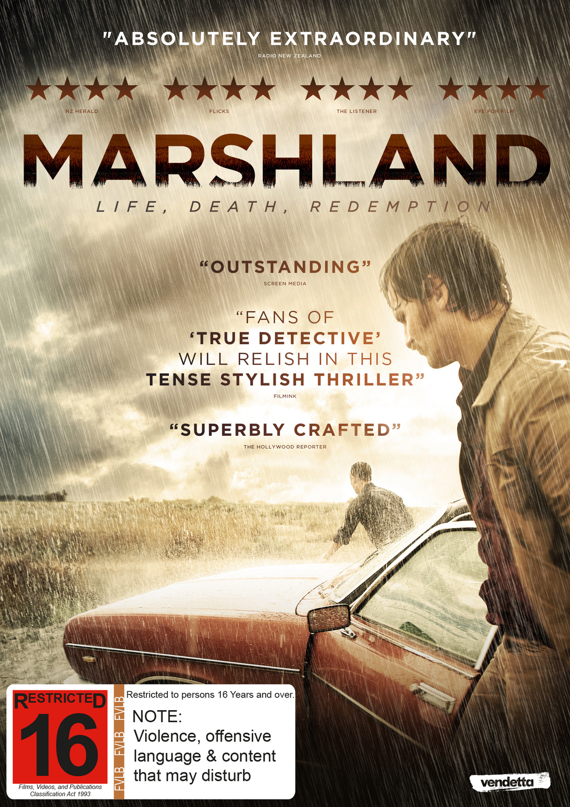 Marshland DVD image