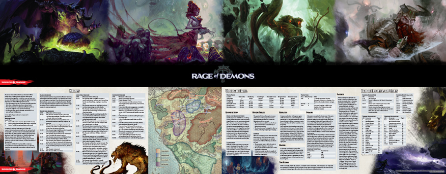 D&D: Dungeon Master's Screen (Rage of Demons) image