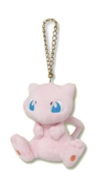 Pokemon: Plush Mascot Charm (Mew)