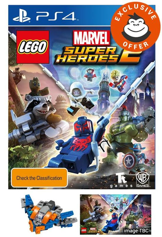 LEGO Marvel Super Heroes 2 for PS4