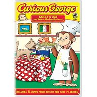Curious George - Vol. 3: Takes A Job And More Monkey Business! on DVD image
