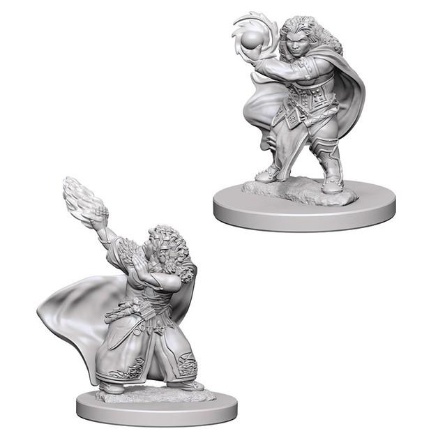 D&D Nolzurs Marvelous: Unpainted Miniatures - Dwarf Female Wizard