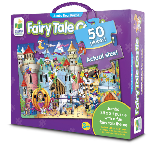 The Learning Journey: Jumbo Floor Puzzle - Fairy Tale Castle
