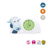 Zazu Sam the Sheep Sleep Trainer Clock - Blue image