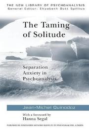 The Taming of Solitude by Jean-Michel Quinodoz image