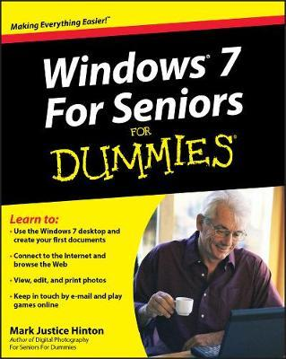 Windows 7 For Seniors For Dummies by Mark Justice Hinton image