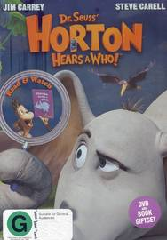 Horton Hears A Who (DVD And Book) on DVD image