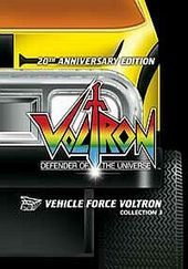 Vehicle Force Voltron - Collection 3 (3 Disc Set) on DVD