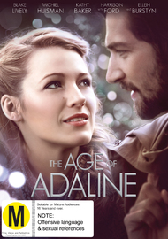 Age Of Adaline on DVD